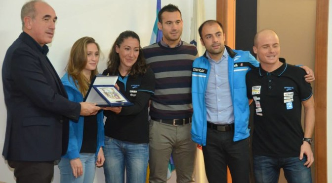 Triathlon Team Sassari migliore società Regionale 2015