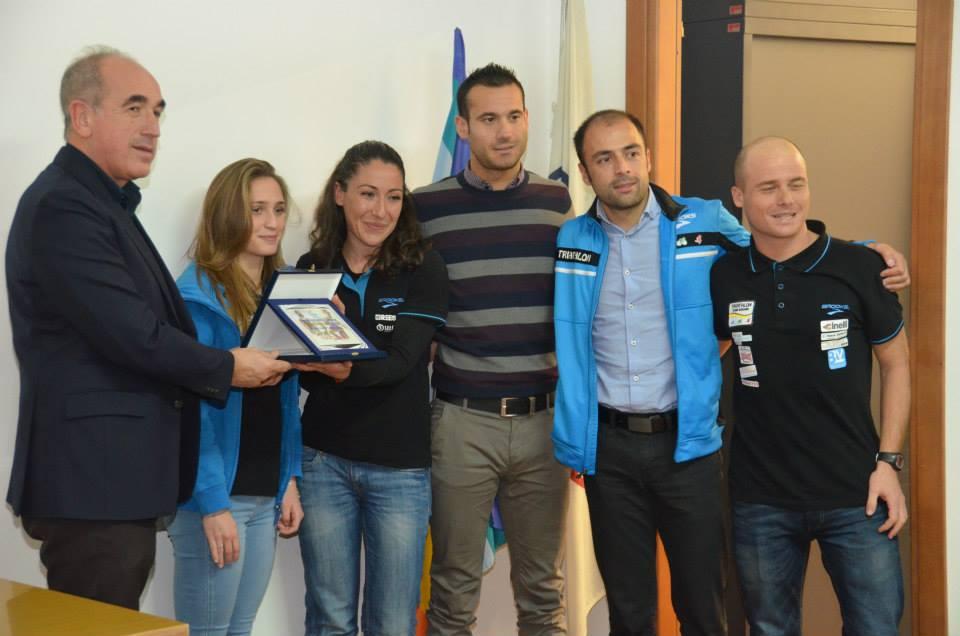 Triathlon team Sassari festa del Tri 2015