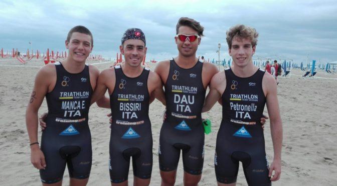 Positiva esperienza per i giovani atleti del Triathlon Team Sassari
