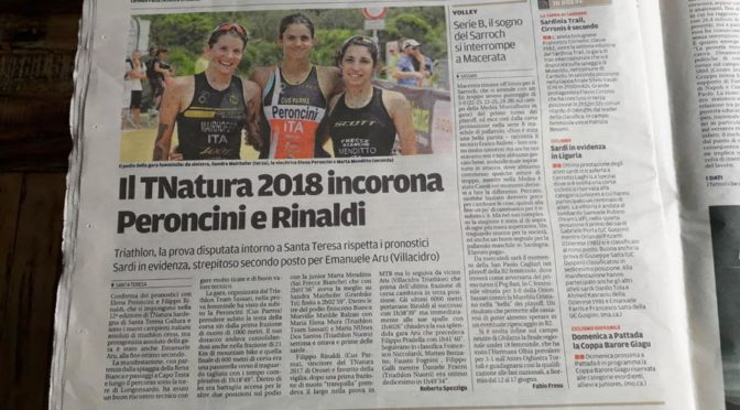 TNatura Santa Teresa Gallura – Campionato Italiano Triathlon Cross 2018