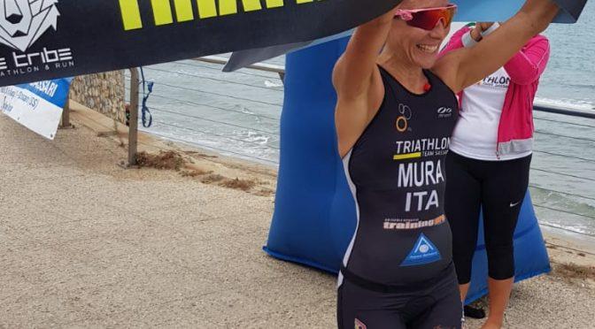 A Sorso Maria Elena Mura si conferma Campionessa Regionale nel Triathlon Cross.