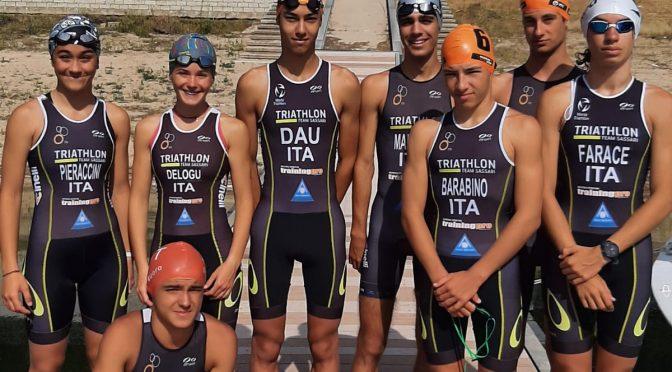 Giovani Triathleti Sassaresi in trasferta ai Campionati Italiani di Triathlon