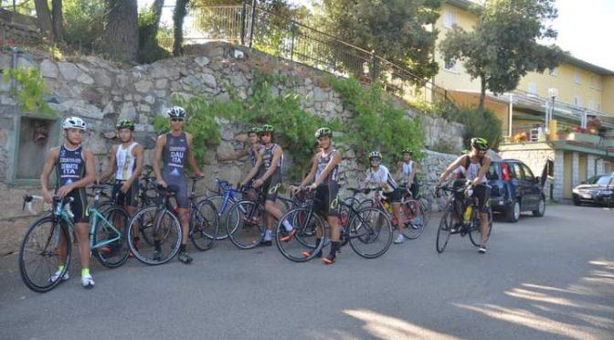 Super Weekend a Gusana per i Giovani del Triathlon Team Sassari